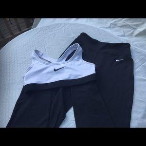 Nike dri-fit workout stretch yoga pants leggings